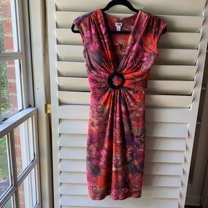 Floral cocktail dress | Cache